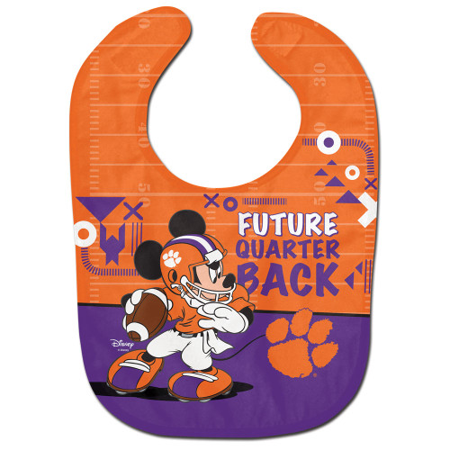 Clemson Tigers Baby Bib All Pro Future Quarterback Special Order
