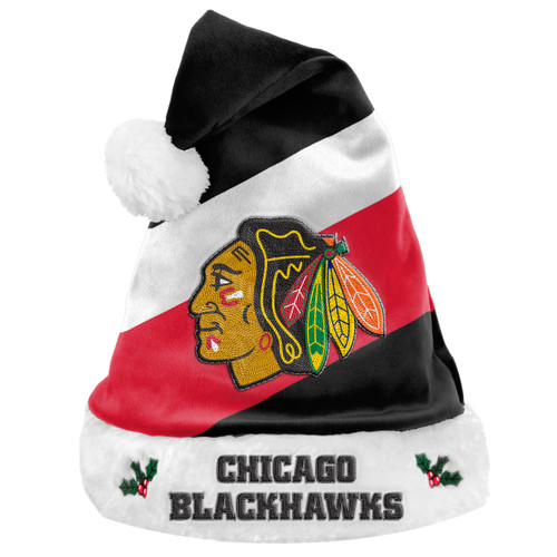 Chicago Blackhawks Santa Hat Basic - Special Order