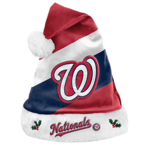 Washington Nationals Santa Hat Basic - Special Order