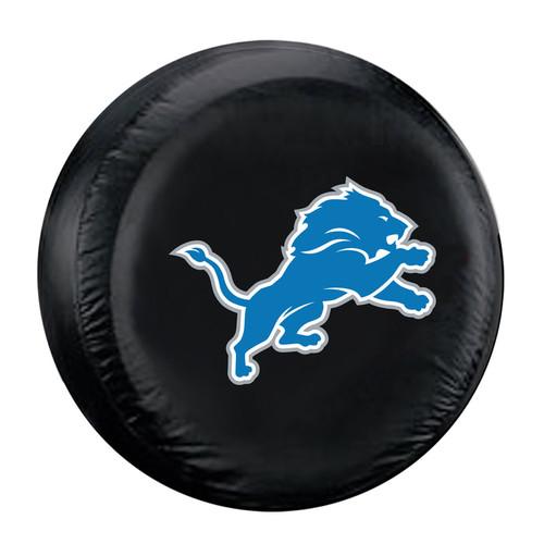 Detroit Lions Tire Cover Standard Size Black