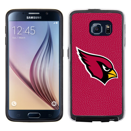 Arizona Cardinals Phone Case Team Color Football Pebble Grain Feel Samsung Galaxy S6