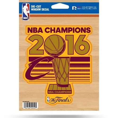 Cleveland Cavaliers Decal Die Cut 2016 Champions CO