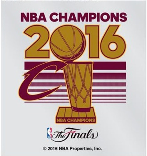 Cleveland Cavaliers Decal Small Static 2016 Champions CO