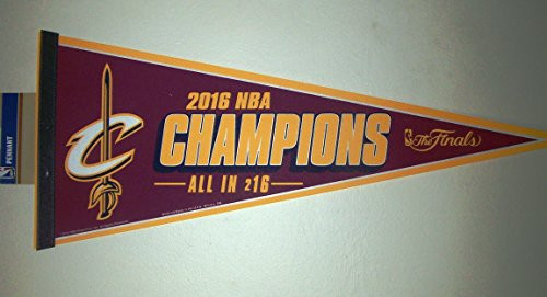 Cleveland Cavaliers Pennant 12x30 2016 Champions Design CO