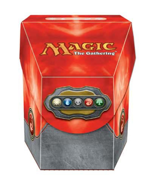 Deck Box, ProHex - Magic: The Gathering - Commander - Red