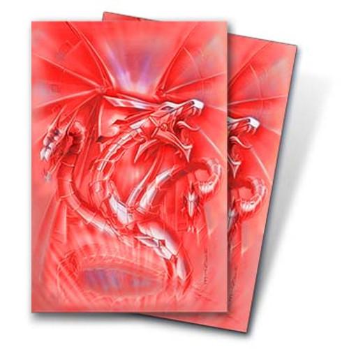 Deck Protectors, Monte - Small Size - Red Diamond Dragon