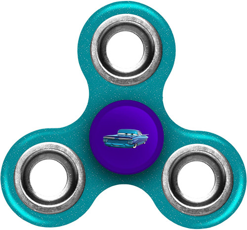 Disney Cars Spinnerz Three Way Diztracto Fillmore Teal