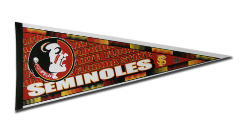 Florida State Seminoles Pennant 12x30 Carded Rico