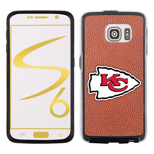 Kansas City Chiefs Phone Case Classic Football Pebble Grain Feel Samsung Galaxy S6