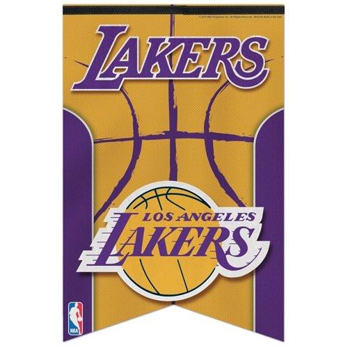Los Angeles Lakers Banner 17x26 Pennant Style Premium Felt