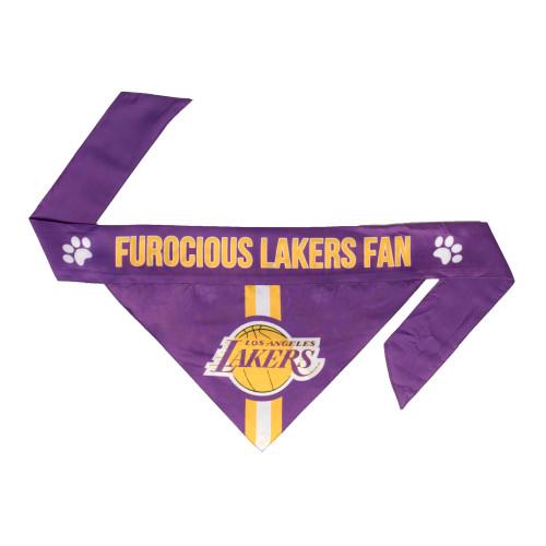 Los Angeles Lakers Pet Bandanna Size XS