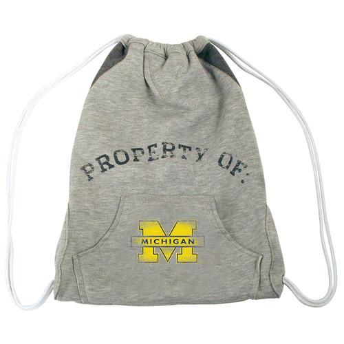 Michigan Wolverines Hoodie Cinch Bag