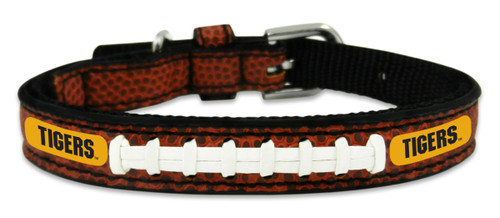 Missouri Tigers Classic Leather Toy Football Collar -