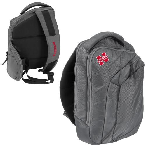 Nebraska Cornhuskers Backpack Game Changer Sling Style