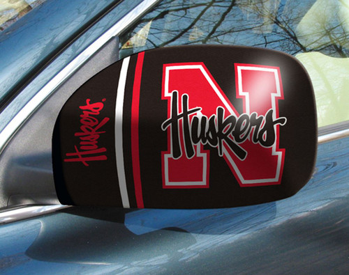 Nebraska Cornhuskers Mirror Cover Small