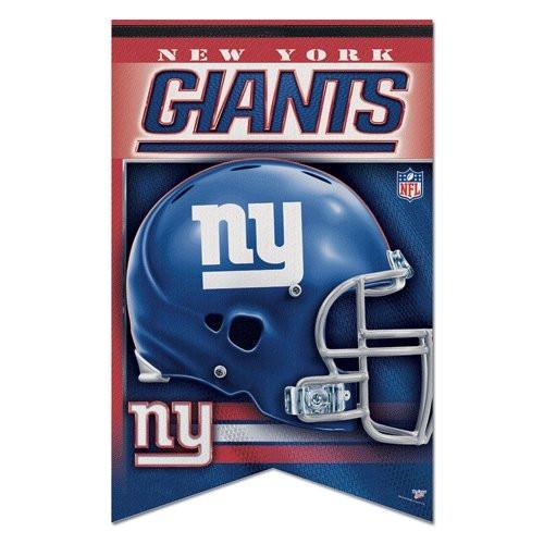 New York Giants Banner 17x26 Pennant Style Premium Felt