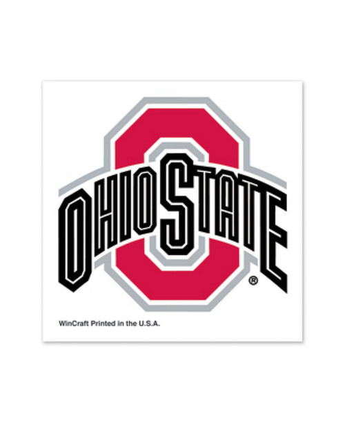 Ohio State Buckeyes Tattoos Temporary Team Color