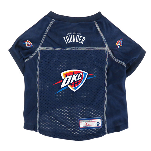 Oklahoma City Thunder Pet Jersey Size XL