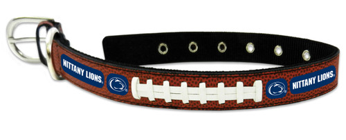 Penn State Nittany Lions Classic Leather Medium Football Collar -