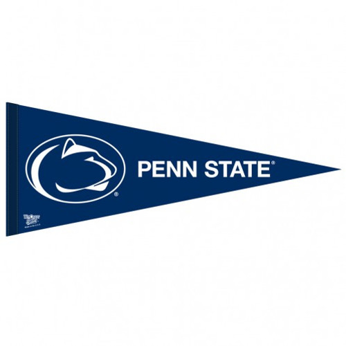 Penn State Nittany Lions Pennant 12x30 Premium Style Alternate