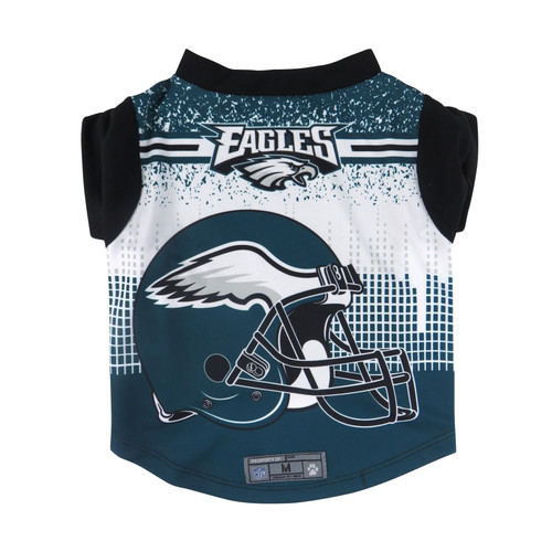 Philadelphia Eagles Pet Performance Tee Shirt Size L Special Order