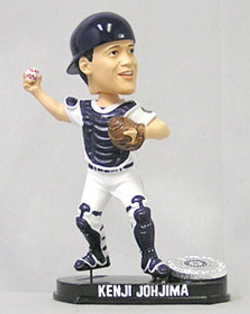 Seattle Mariners Kenji Jojhima Forever Collectibles Blatinum Bobblehead -