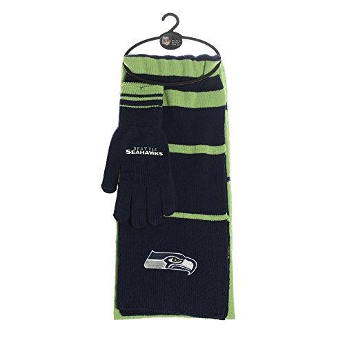 Seattle Seahawks Scarf and Glove Gift Set