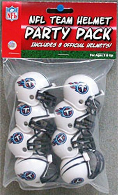 Tennessee Titans Team Helmet Party Pack