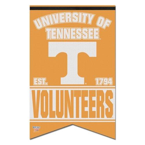Tennessee Volunteers Banner 17x26 Pennant Style Premium Felt