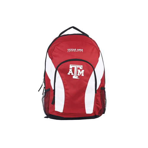 Texas A&M Aggies Backpack Draftday Style Maroon and White