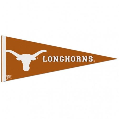 Texas Longhorns Pennant 12x30 Premium Style Logo CO
