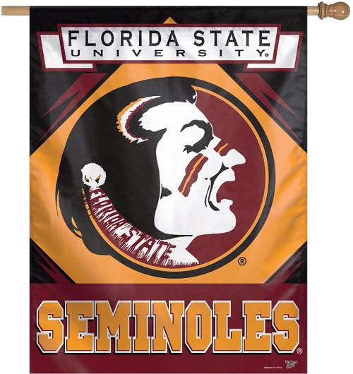 Florida State Seminoles Banner 28x40 Vertical Alternate Design - Special Order