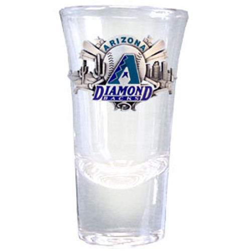 Arizona Diamondbacks Glass Shot Flared
