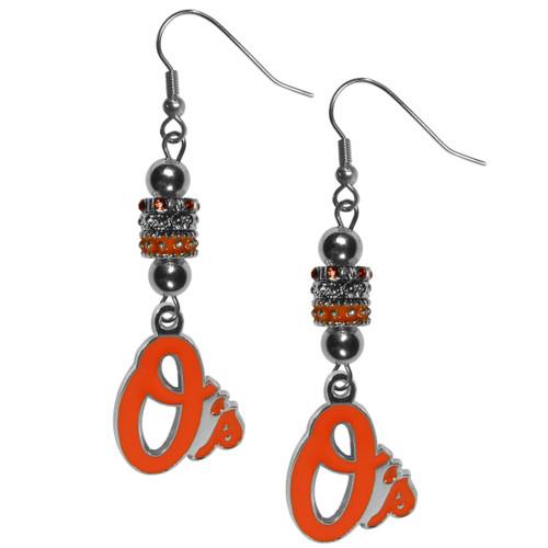 Baltimore Orioles Earrings Fish Hook Post Euro Style CO