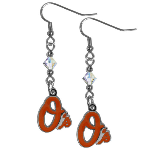 Baltimore Orioles Earrings Fish Hook Post Style CO