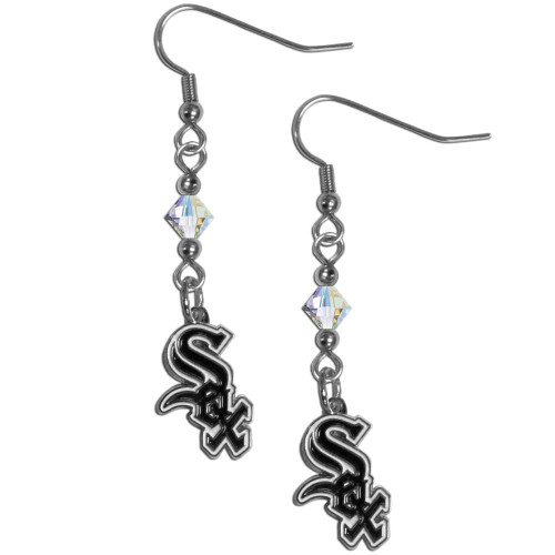 Chicago White Sox Earrings Fish Hook Post Style CO