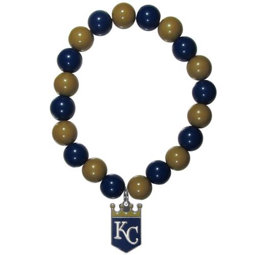 Kansas City Royals Bracelet Bead Style