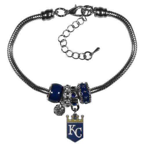 Kansas City Royals Bracelet Euro Bead Style