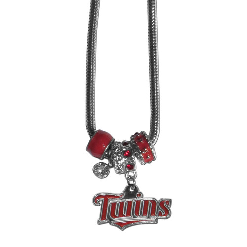 Minnesota Twins Necklace Euro Bead Style