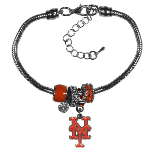 New York Mets Bracelet Euro Bead Style