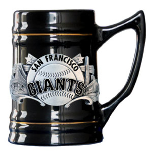 San Francisco Giants Stein 18oz Black