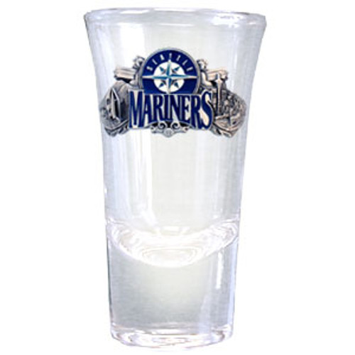 Seattle Mariners Glass Shot Flared