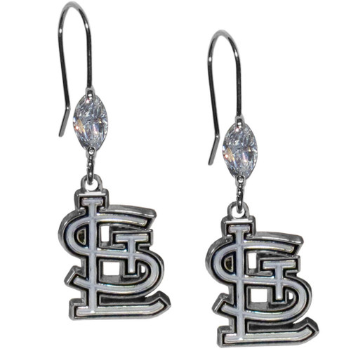 St. Louis Cardinals Earrings Fish Hook Post Style