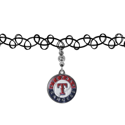 Texas Rangers Necklace Knotted Choker