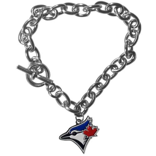 Toronto Blue Jays Bracelet Chain Link Style