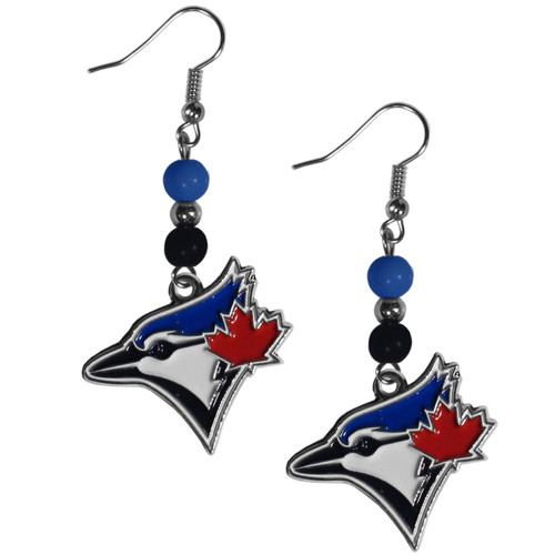 Toronto Blue Jays Earrings Dangle Style