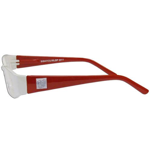 Washington Nationals Glasses Readers Color 2.00 Power
