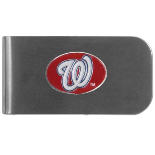 Washington Nationals Money Clip Steel