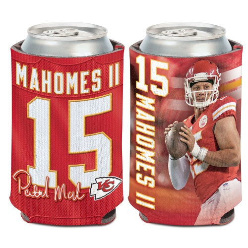 Kansas City Chiefs Can Cooler Patrick Mahomes Action Design