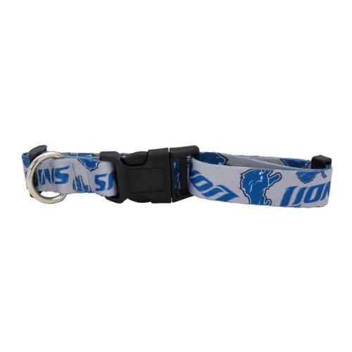 Detroit Lions Pet Collar Size L Special Order